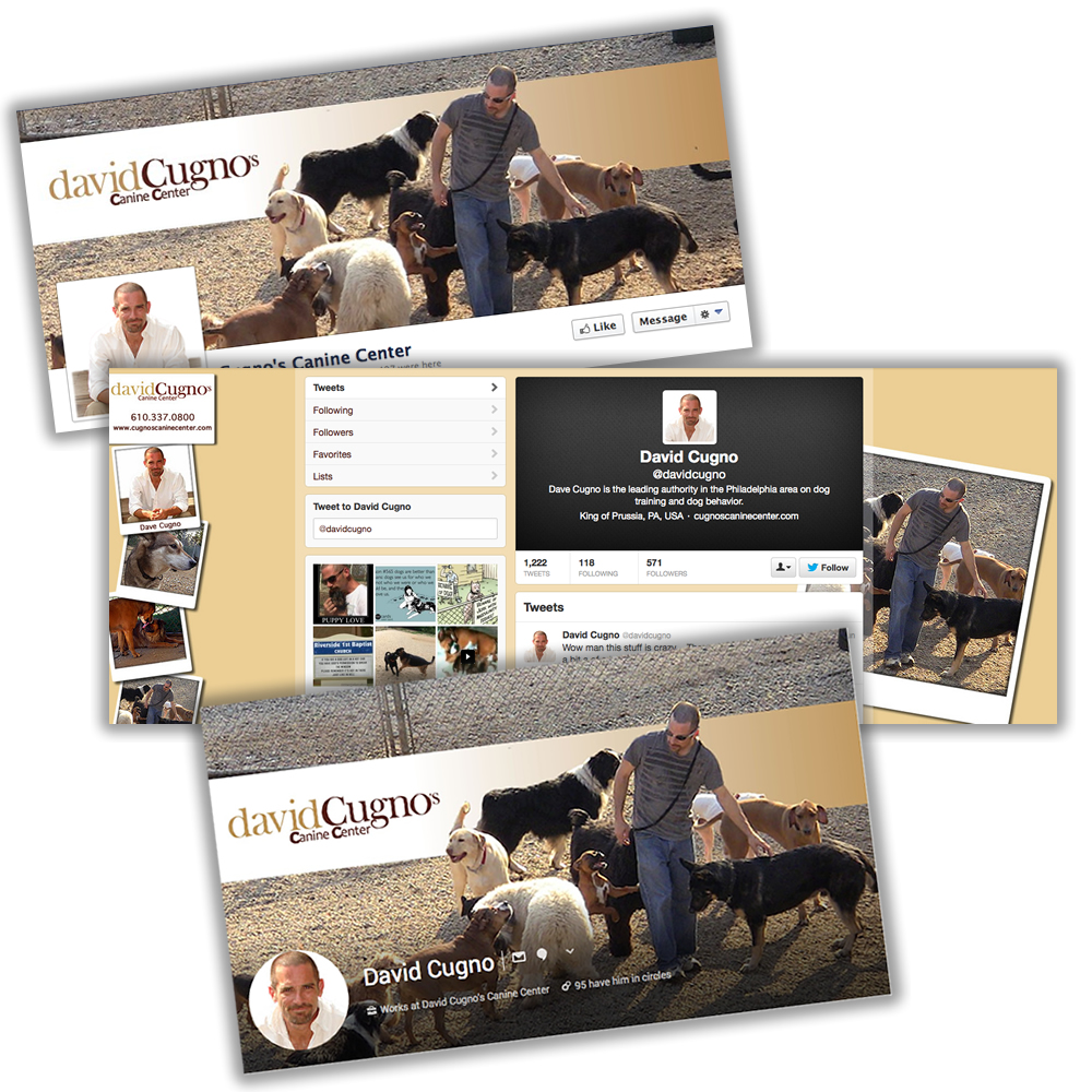 Cugno's Canine Center – Social Media