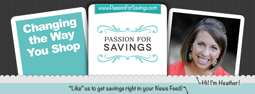 Passion for Savings – Facebook Cover #soup2nutsblogs