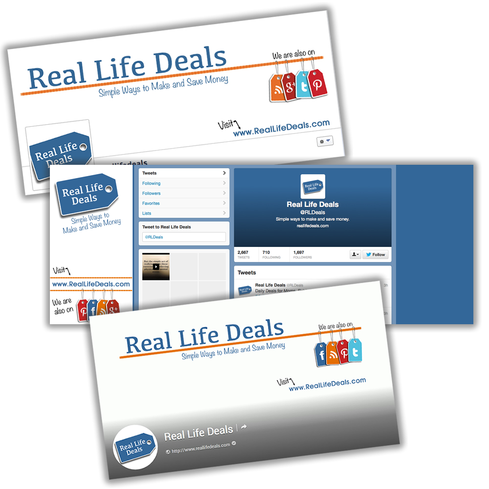 Latest Project: Real Life Deals - Social Media #soup2nutsblogs